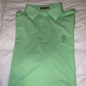 Peter Millar Mint Green Polo